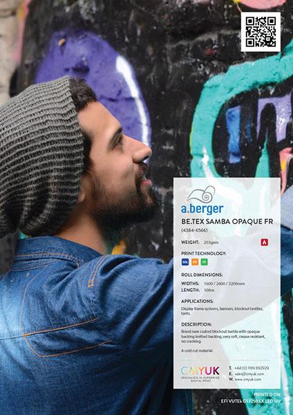 Berger Be.Tex Samba Opaque FR