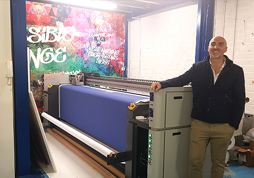 Steven Hudson, Printroom founder.