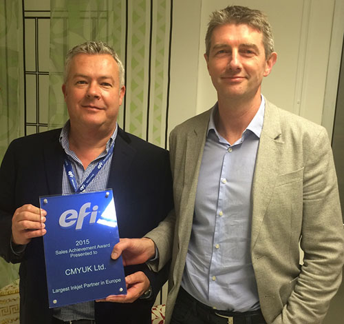 Robin East & Jon Price - EFI European Sales Partner for 2015