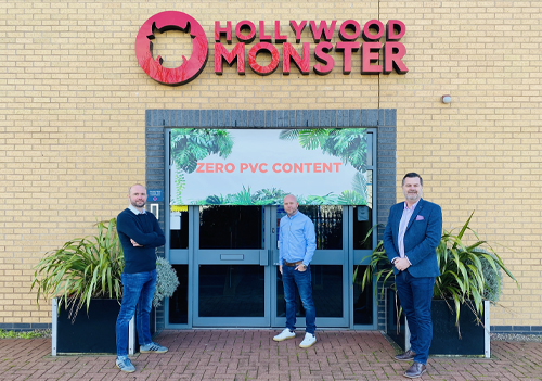 L to R: Mat Jephcott; Operations Manager at Hollywood Monster, Simon McKenzie; Managing Director at Hollywood Monster and Damien Clarke; Sales Director at CMYUK