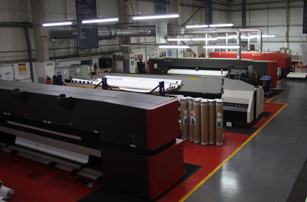 Hollywood Monster's Birmingham-based plant is home to two new EFI VUTEk 5r and VUTEk HS125 printers, expanding their already impressive VUTEk portfolio