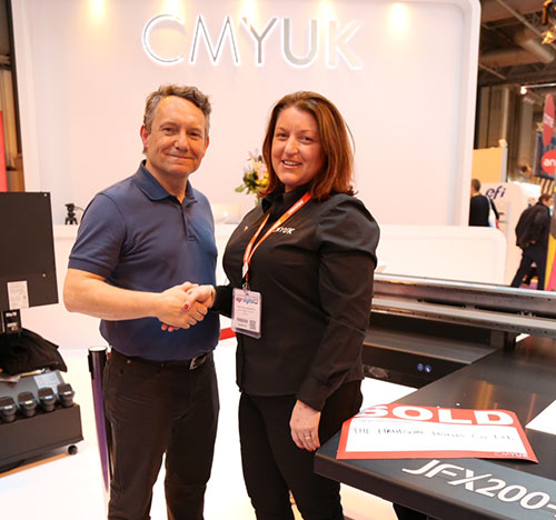 CMYUK sign deal with The Handsome Prints Company