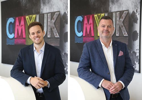 Joel Willcock, Commercial Director, and Damien Clarke, Sales Director.