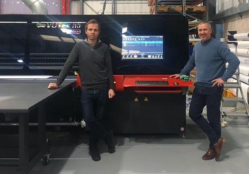 David Lister, Sales Director (left)  and Adrian Rushton, Managing Director