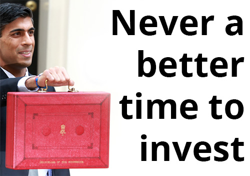 Never a better time to invest