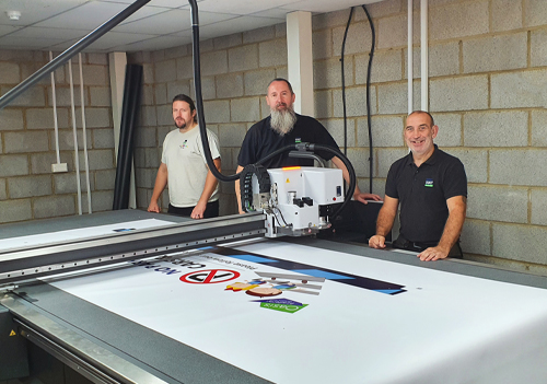 Left to Right: James Lockyer, Mike Rawlings, Chris Leonard
