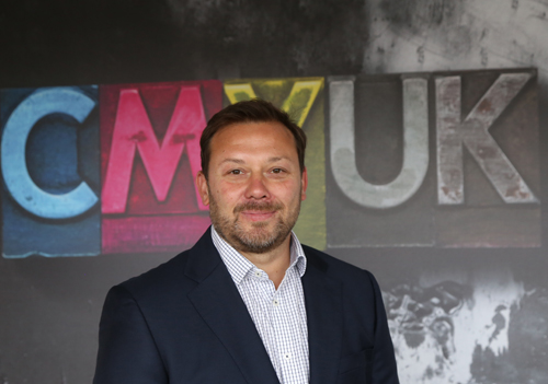 Wesley Small joins CMYUK as Senior Digital Sales Consultant for EFI VUTEk business