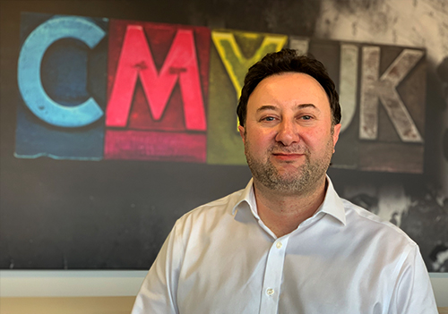Brett Platt will be working alongside CMYUK's Consumables Commercial Director, Michael Crook, establishing an R&D infrastructure that will bring new fabrics to market.