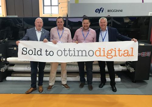 Ottimo's latest EFI purchase of the EFI FabriVU 340i