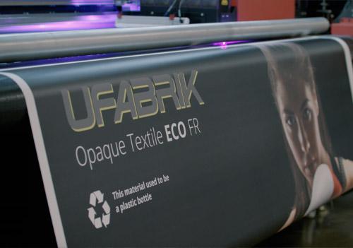 EFI has given UFabrik eco materials from CMYUK a resounding endorsement