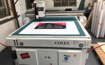 Colex Sharpcut Flatbed Cutter 1