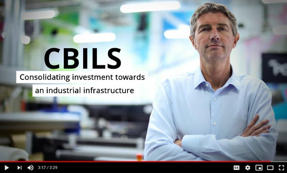 CBILS - Consolidating investment towards an industrial infrastructure