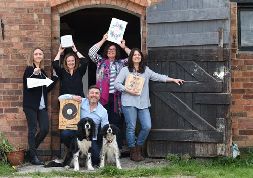 Having started out from a bedroom office and garden studio, Delightful Living is now ten years old and operating from a converted dairy farm with a small team.