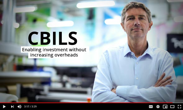 CBILS - Enabling investment without increasing overheads