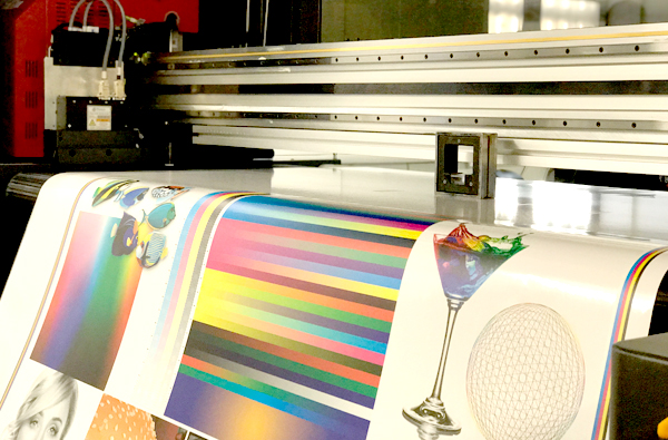 PRO 16H LED can produce white ink prints