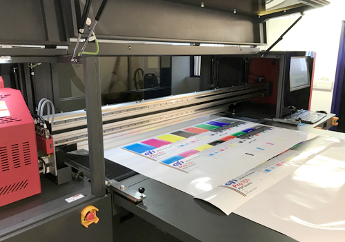 EFI PRO 16h LED - print on an extensive range of flexible and rigid substrates to include fabric, wood, acrylic and glass.