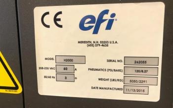 EFI VUTEk H2000 Pro 4