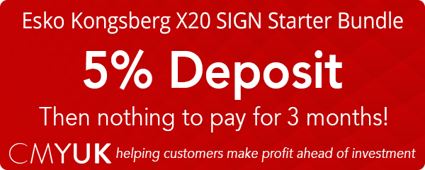 Kongsberg X20 SIGN Starter Bundle - low Deposit, nothing to pay for 3 months