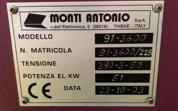 Monti Antonio 91-3600 3