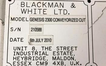 Blackman & White Genesis 3200 4