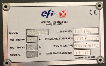 EFI VUTEk GS5000r 5