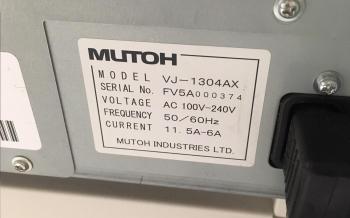 Mutoh XJ1304 6