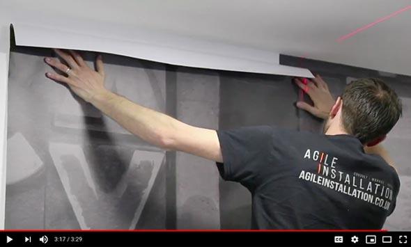 Ritrama Ri-jet Deco Wall 150 Linen installation guide