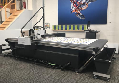 With a working area of 1680mm x 3200mm, the Kongsberg X24 Starter is perfect for a wide range of signage materials.