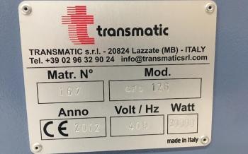 Transmatic GFO 126 Calendar 2