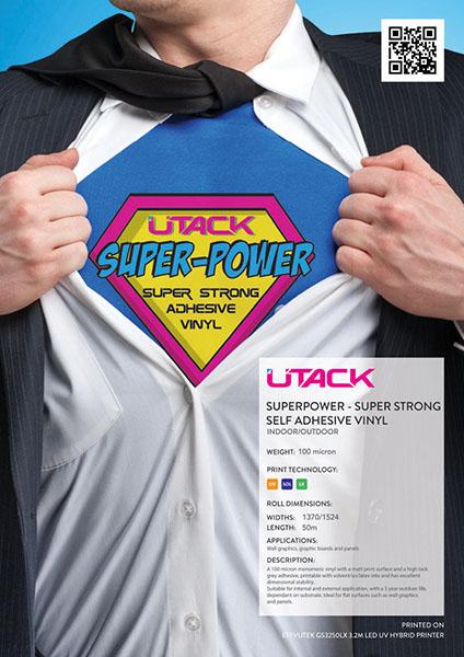 UTACK  Superpower Vinyl