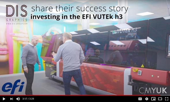 DIS share their EFI VUTEk h3 success story