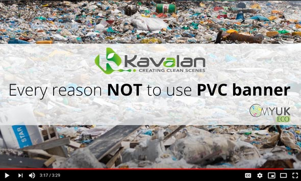 Kavalan - Every reason NOT to use PVC banner