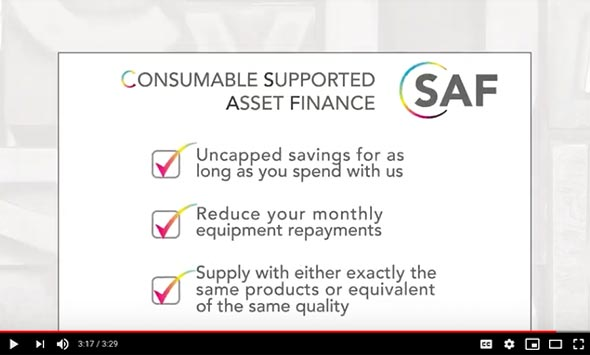 Consumable Supported Asset Finance (CSAF) - CMYUK