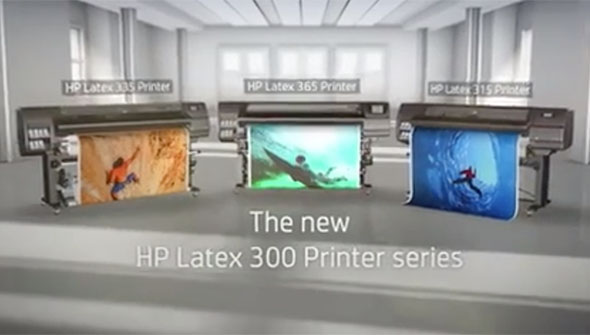 HP Latex 300 Printer Series