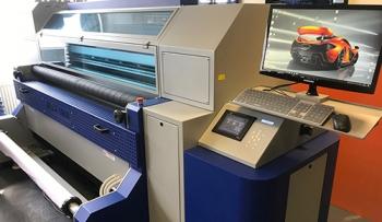 MTEX Blue 1800 dye-sub printer