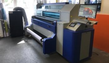 MTEX Blue 1800 dye-sub printer 1